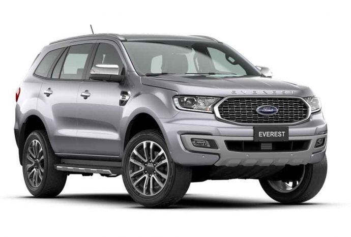 Ford New Everest