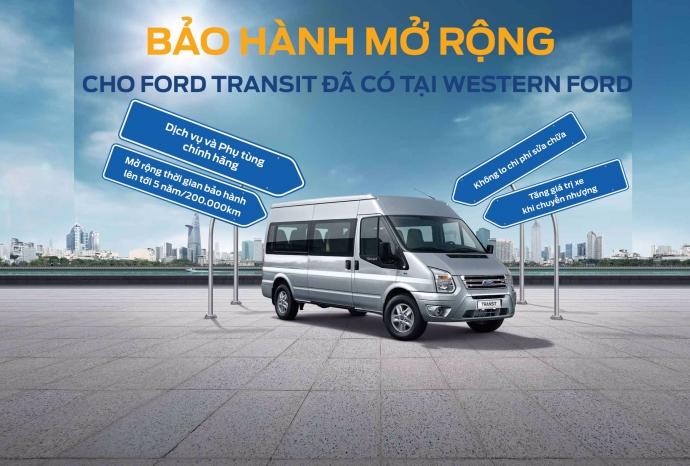 Bảo  hành mở rộng cho Ford Transit đã có tại WesternFord