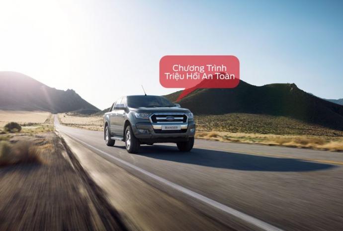 Thông báo: Chương trình triệu hồi an toàn - Kiểm tra/Thay thế Xy-lanh phanh Trước trên xe Ford Ranger